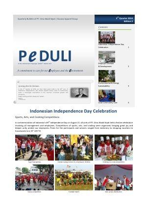 CAS Peduli Bulletin 02 2014 Q3