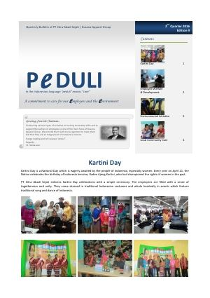 CAS Peduli Bulletin 09 2016 Q2