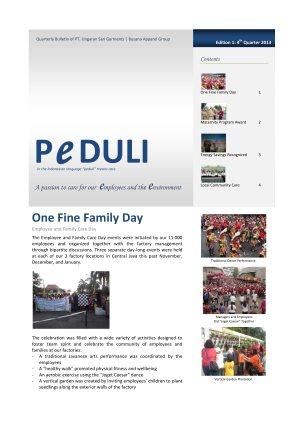 USG Peduli Bulletin 01 2013 Q4