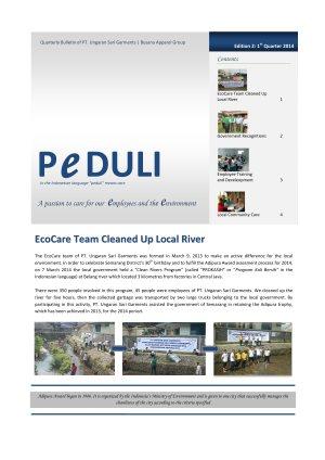 USG Peduli Bulletin 02 2014 Q1