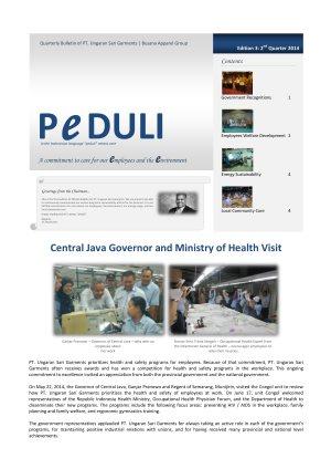 USG Peduli Bulletin 03 2014 Q2