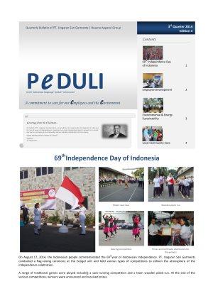 USG Peduli Bulletin 04 2014 Q3