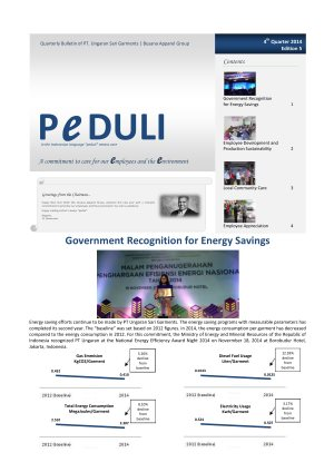 USG Peduli Bulletin 05 2014 Q4