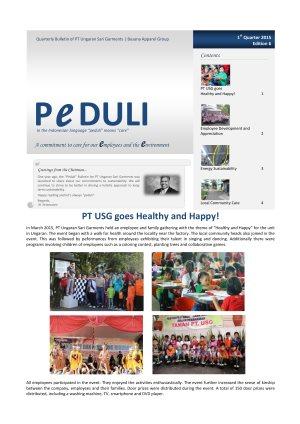 USG Peduli Bulletin 06 2015 Q1