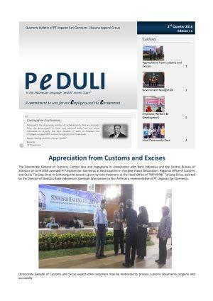 USG Peduli Bulletin 11 2016 Q2