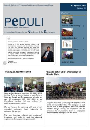 USG - PEDULI Edisi 16