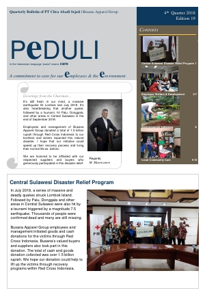 CAS Peduli Bulletin Edition 19