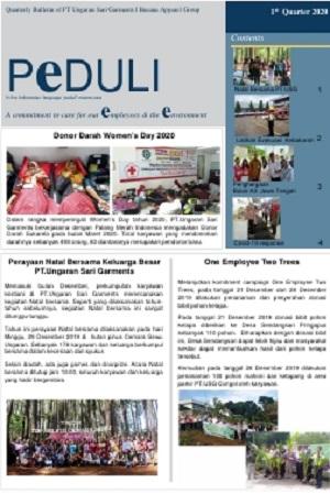 USG - PEDULI Edisi 1st quarter 2020