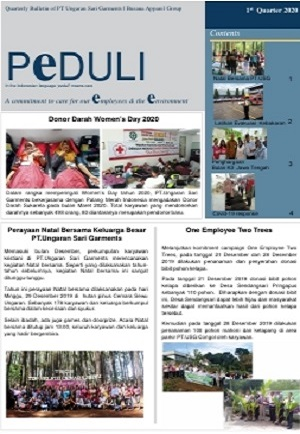 USG - PEDULI Edisi 1st quarter 2020 (Indonesia Version)
