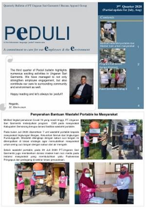 PEDULI Edisi 3rd quarter 2020