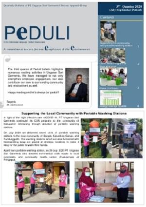 PEDULI Edisi 3rd quarter 2020 English