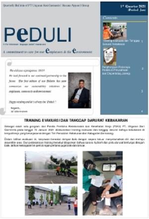 PEDULI Edisi 1st quarter 2021