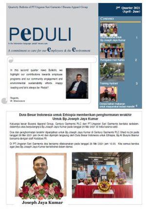 PEDULI Edisi 2nd quarter 2021